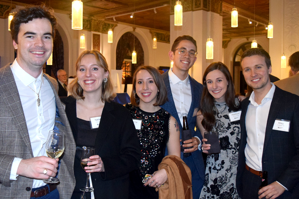 Crossroads alumni attending the 2019 gala